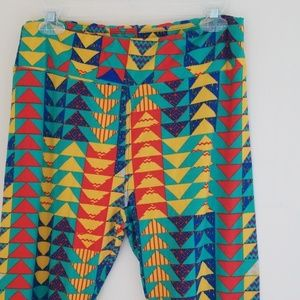 LuLaRoe TC Triangle Leggings